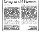 Group to Aid Vietnam