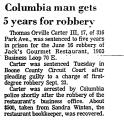 Columbia Man Gets 5 Years for...