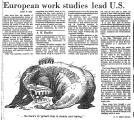 European Work Studies Lead U. S.