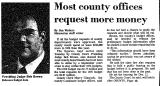 Most County Offices Request More...