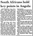 South Africans Hold Key Points in...