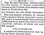 The Thames Disaster.-London,...