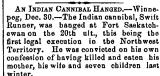 An Indian Cannibal...