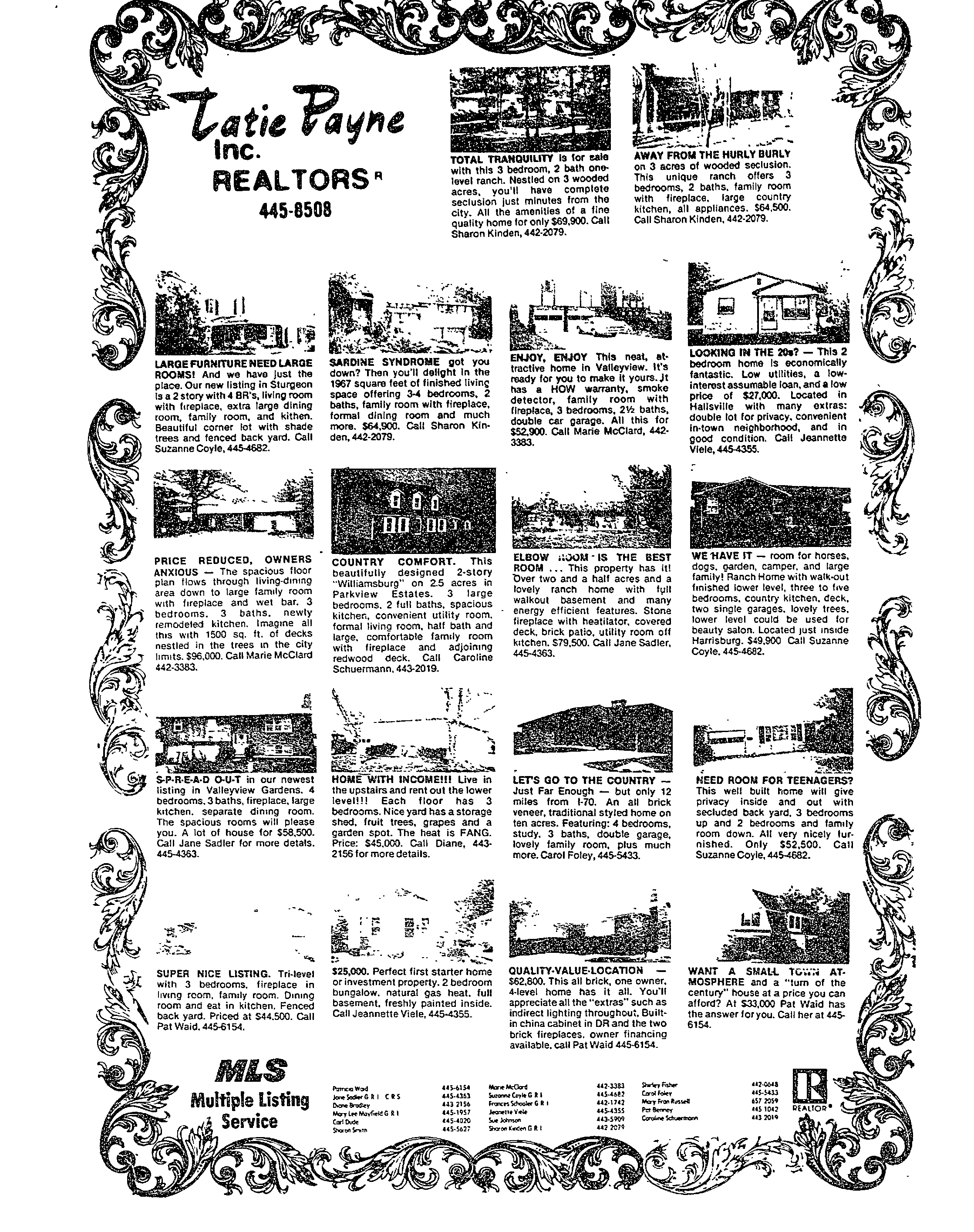 Advertising Columbia Missourian 1980 1984 Missouri Digital Heritage Hosted Collections